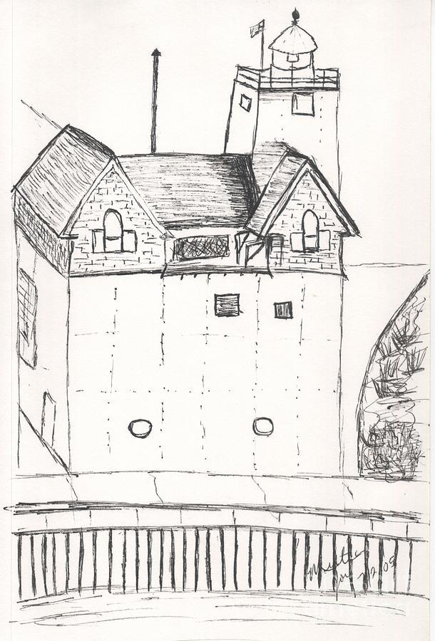 Holland Lighthouse II by MYRTLE JOY