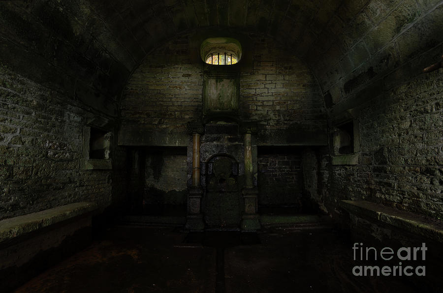 Well Photograph - Hollinshead Hall Well House by Steev Stamford