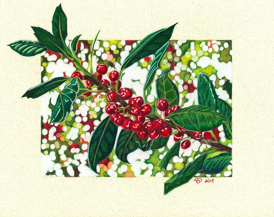 Hollyberries by Becky Eileen Eller