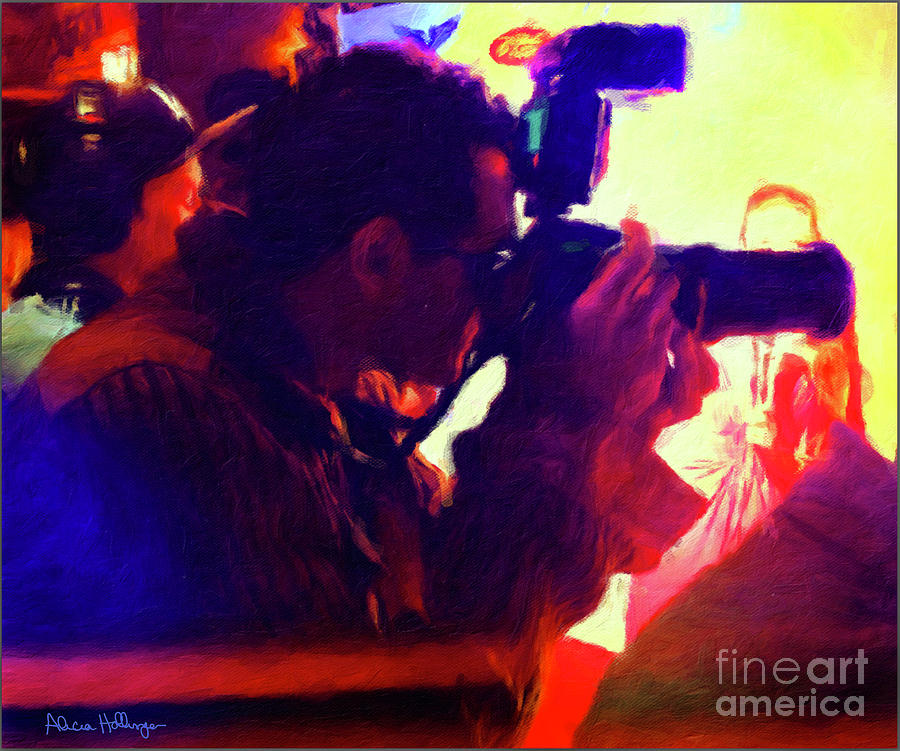 Hollywood Paparazzi by Alicia Hollinger