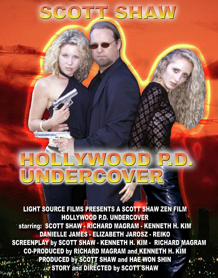 Zen Filmmaking Photograph - Hollywood P.d. Undercover by The Scott Shaw Poster Gallery