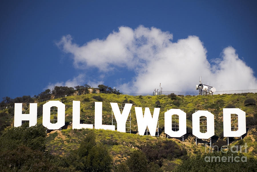 Hollywood Sign Photograph - Hollywood Sign by Anthony Citro