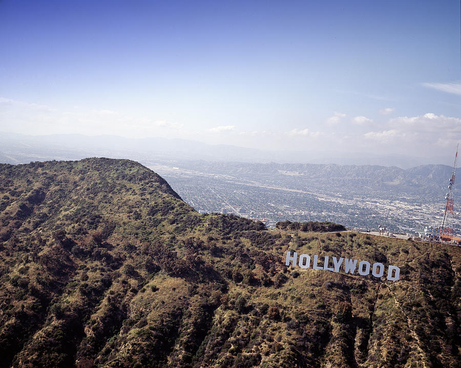 2000s Photograph - Hollywood Sign, Built Ca. 1923 By Mack by Everett
