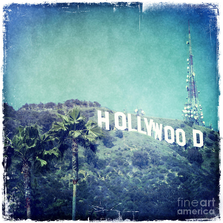 Hollywood Sign Photograph - Hollywood Sign by Nina Prommer
