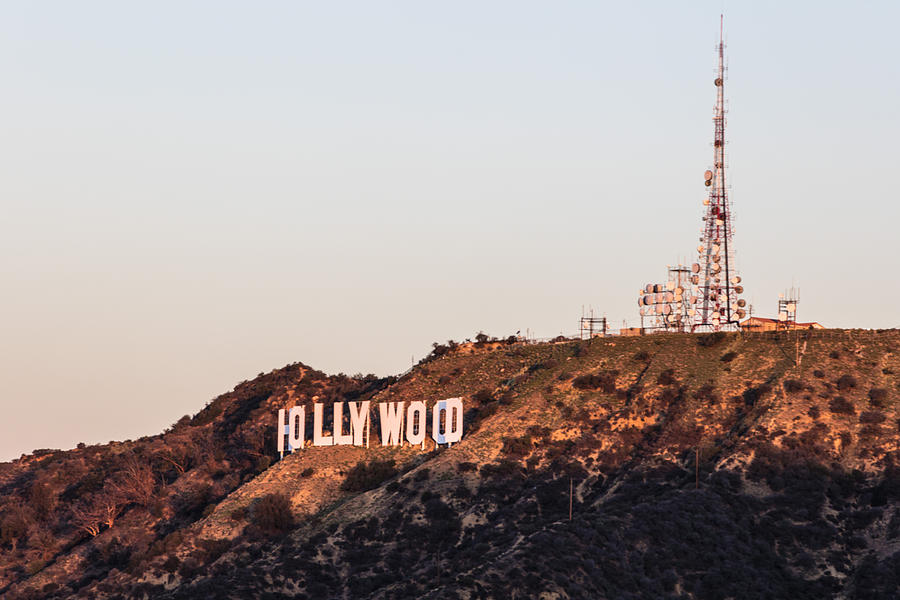 Hollywood Sign Sunrise Photograph By John McGraw