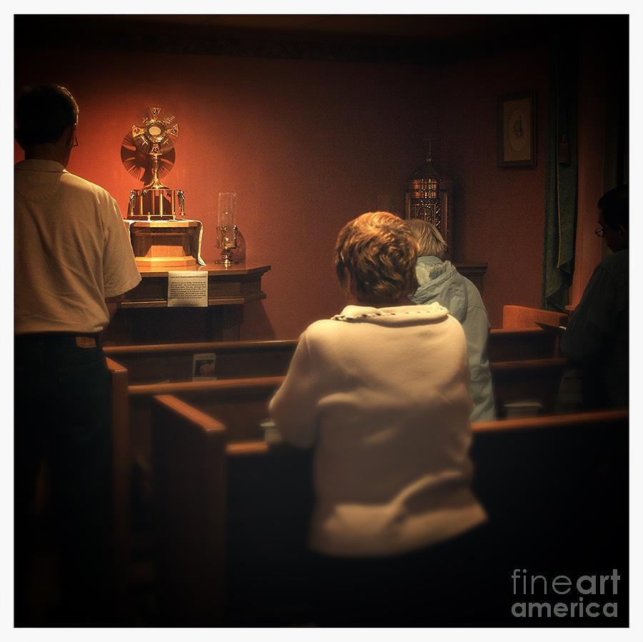 Holy Adoration Altar Photograph