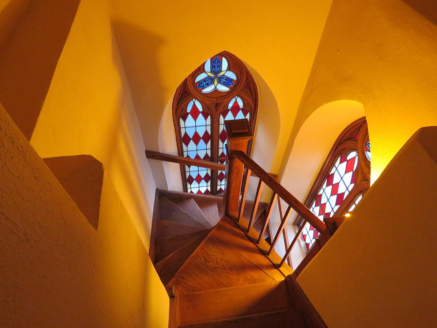 Holy Cross Staircase by Keith Stokes