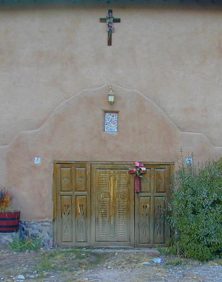 Door Photograph - Holy Door by Joseph R Luciano