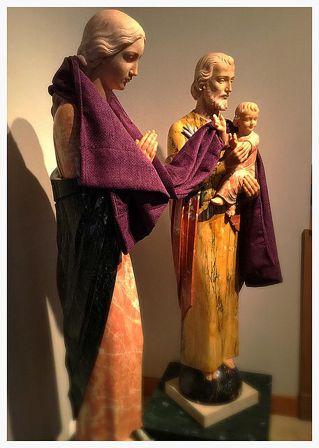 Lent Photograph - Holy Family - Lent by Frank J Casella