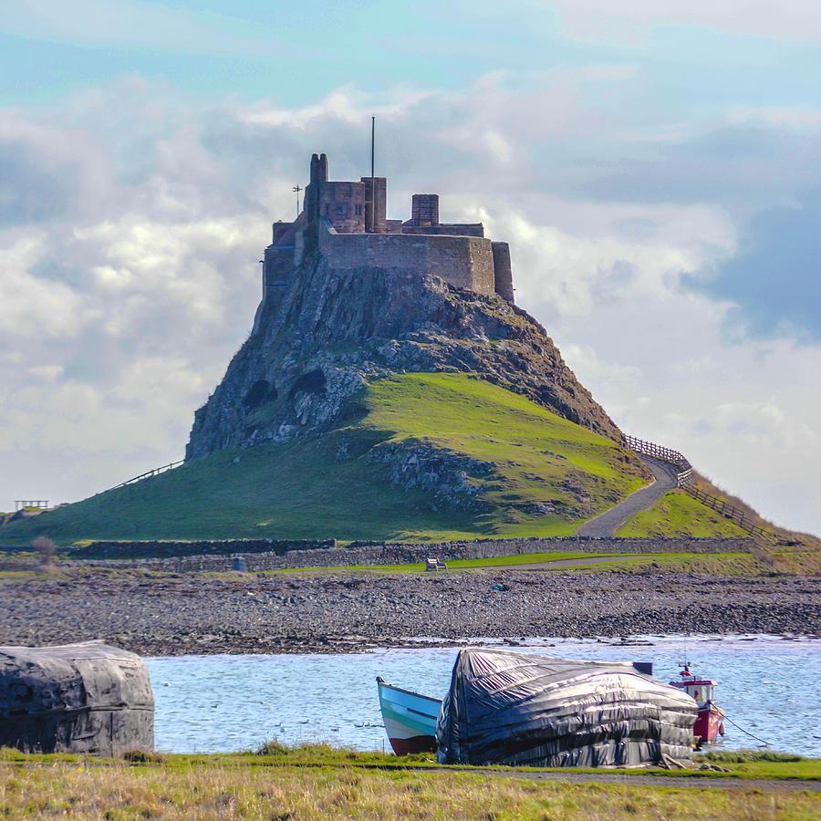 Holy Island, Lindisfarne by Printed Pixels