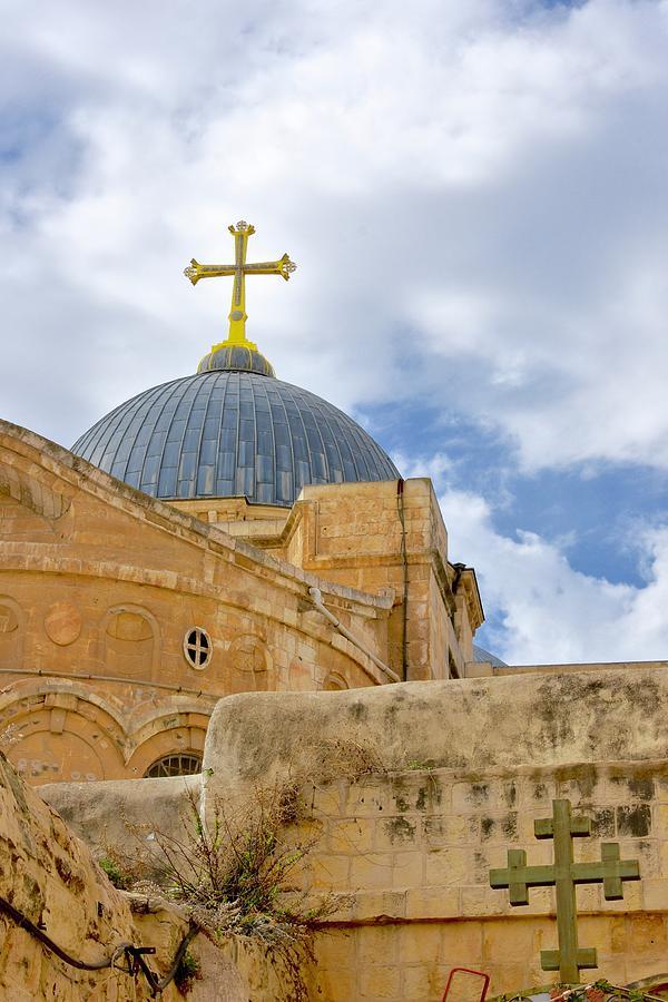 Church Of The Holy Sepulcher Photograph - Holy Sepulcher by Barbara Stellwagen