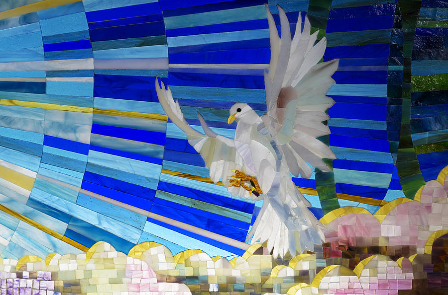 Holy Spirit Photograph - Holy Spirit Dove by Cindy D Chinn