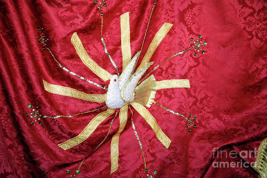 Holy Spirit Photograph - Holy Spirit Flag by Gaspar Avila