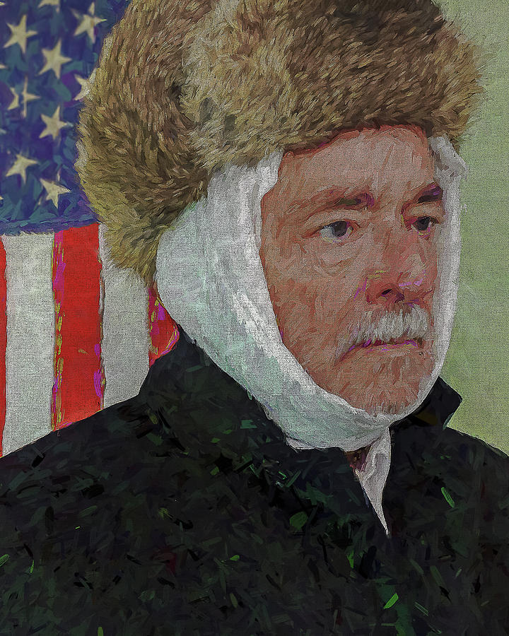 Vincent Photograph - Homage To Van Gogh Selfie by Jerry Gammon