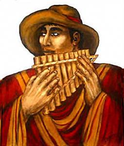 Hombre Peruviano Painting by Mary Louise Lopez