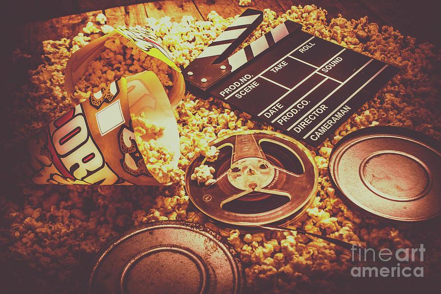 Cinema Photograph - Home Cinema Art by Jorgo Photography - Wall Art Gallery