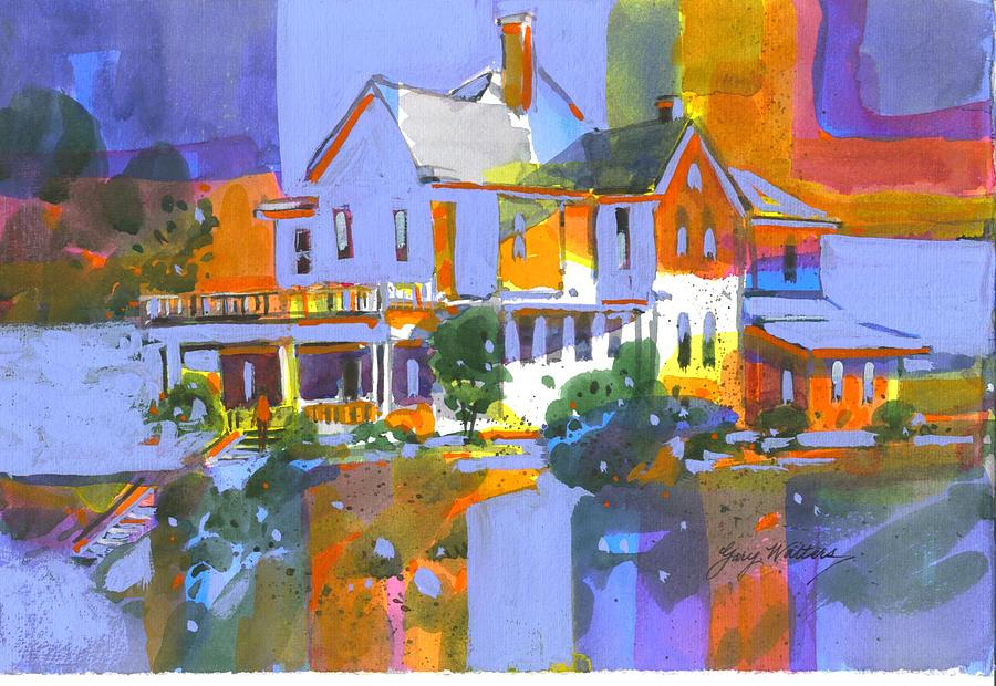 Home Colors Painting by Gary Walters