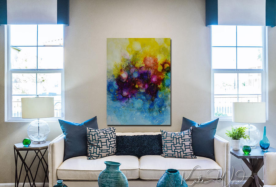 Home Interior with Spring into Summer by Kate Word