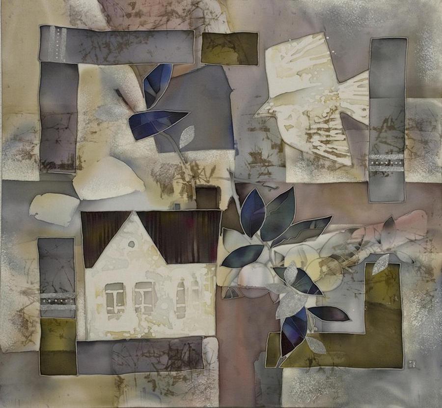 Impressionism Painting - home Keeper by Korolkova Marija