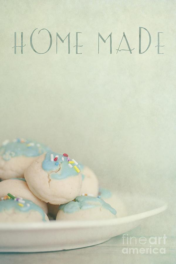 Cookies Photograph - Home Made Cookies by Priska Wettstein