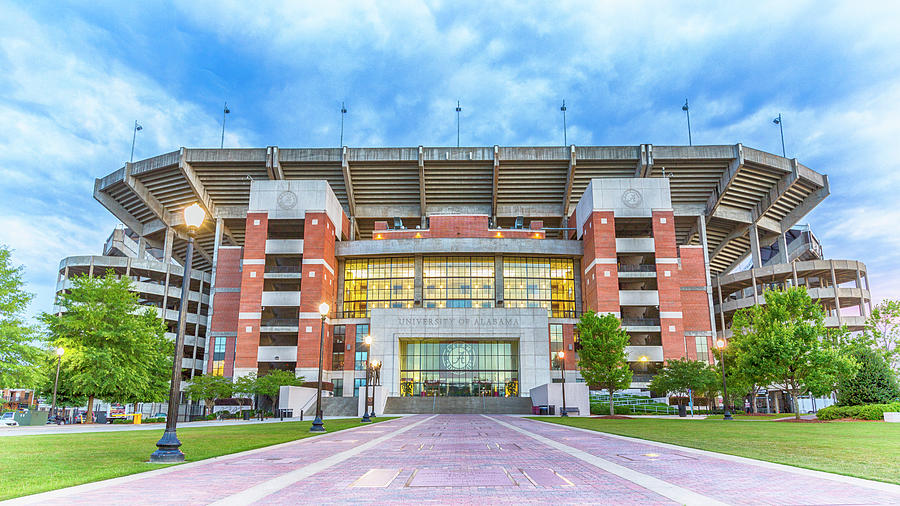 Alabama Photograph - Home of Champions -- Bryant-Denny Stadium by Stephen Stookey