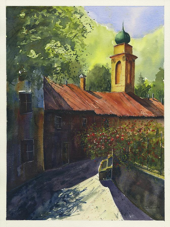 Italy Painting - Home Of Long Ago  by Antonio Mazzola