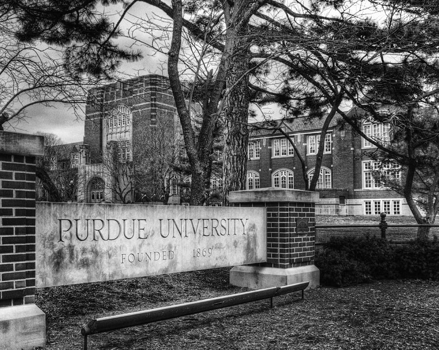 Purdue Photograph - Home Of The Boilers by Coby Cooper