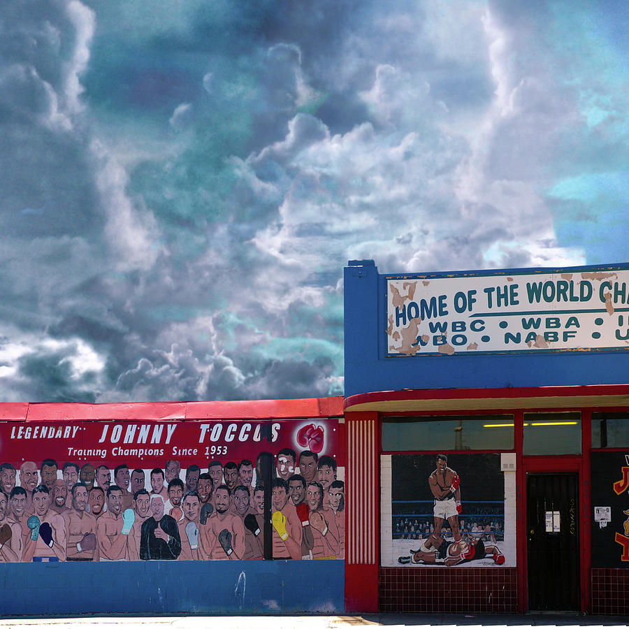 Las Vegas Digital Art - Home Of The World Champions by Jeff Burgess