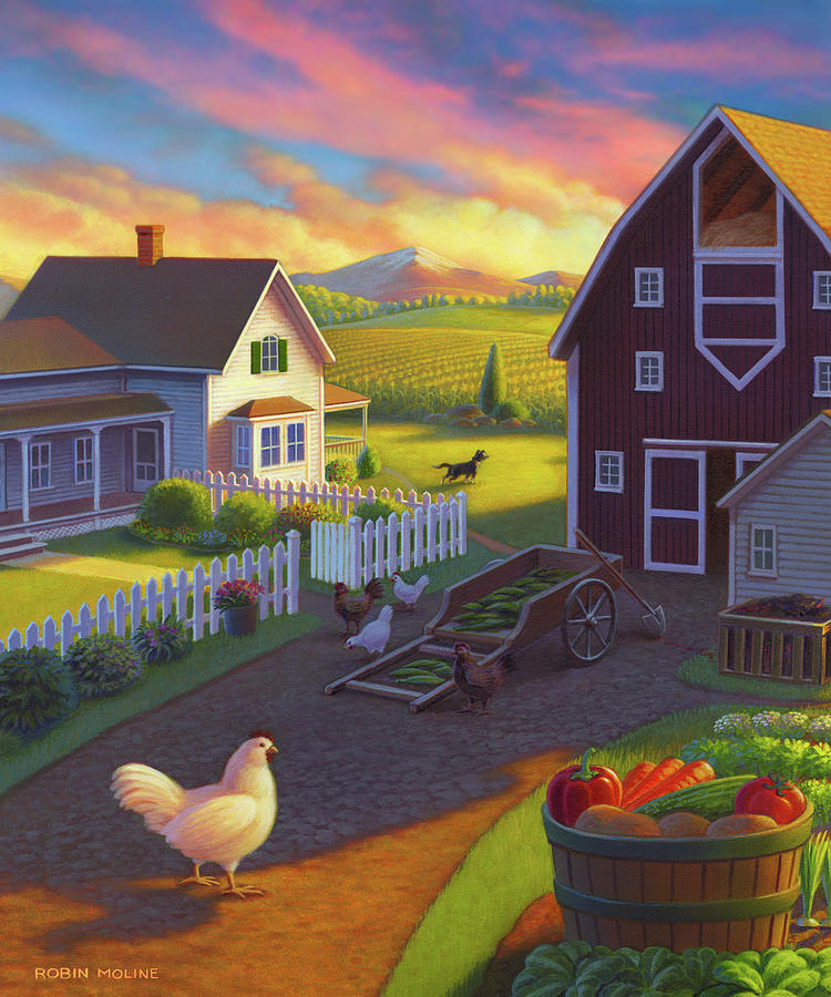 Home on the Farm by Robin Moline