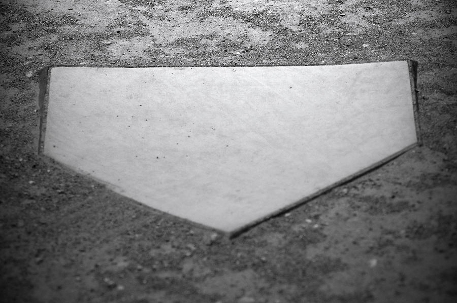 Home Plate Photograph - Home Plate by Shawn Wood