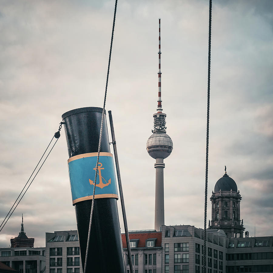 Berlin Photograph - Home Port Berlin by Alexander Voss