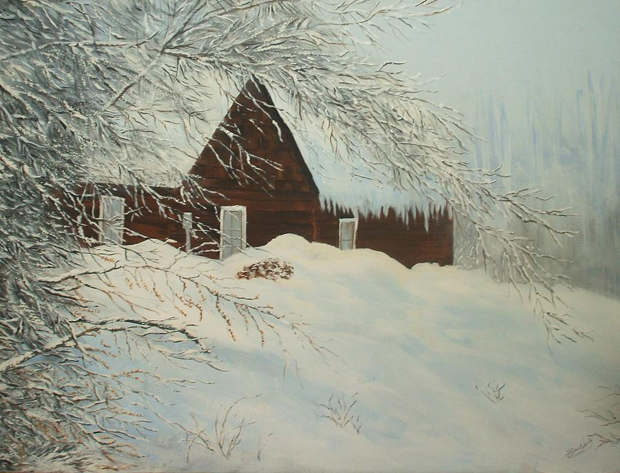 Home Sweet Home Painting by Bev  Neely