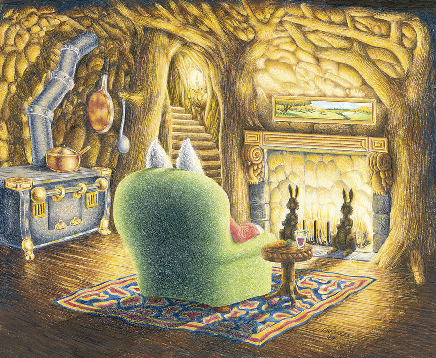 Drawing Drawing - Home Sweet Home by Mike Farrell