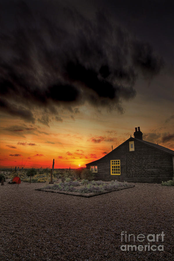 Derek Jarman Photograph - Home To Derek Jarman by Lee-Anne Rafferty-Evans