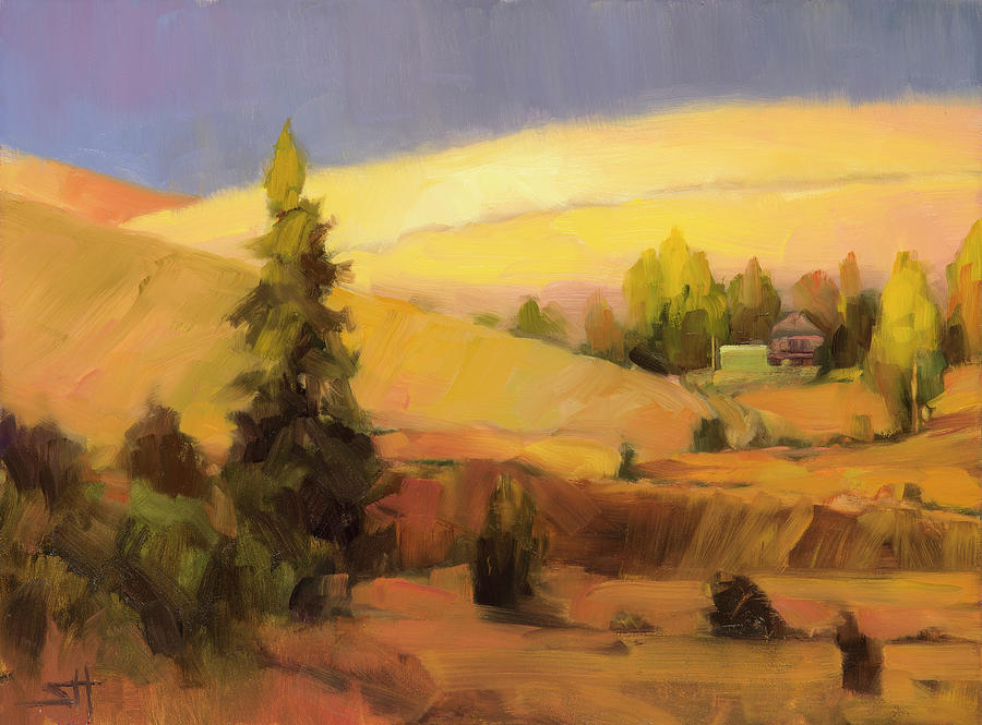 Country Painting - Homeland 2 by Steve Henderson