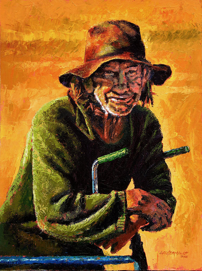 Homeless Painting by John Lautermilch