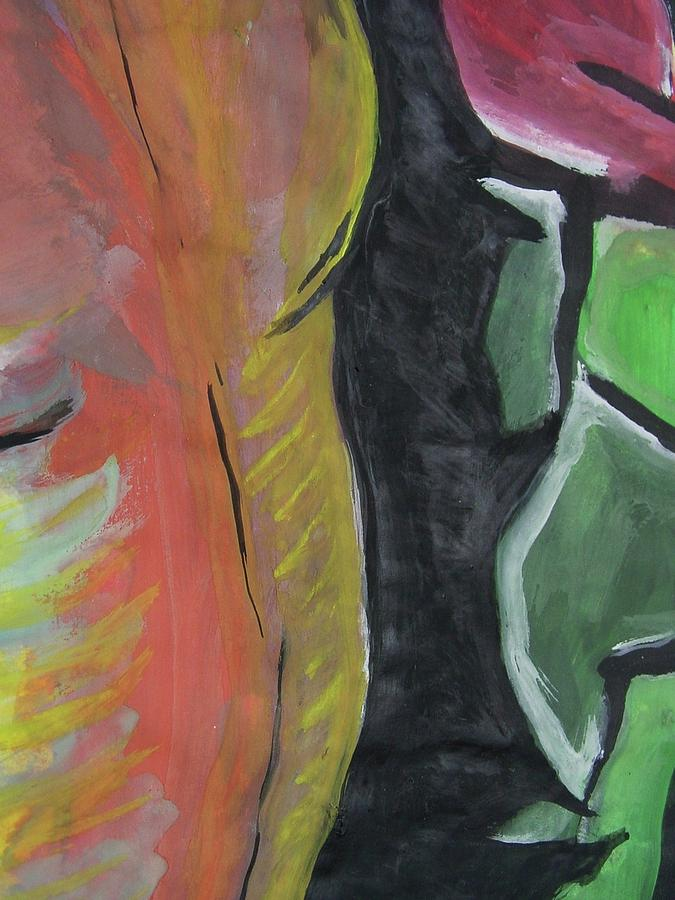 Homem - Partes Painting by Nila  Poduschco