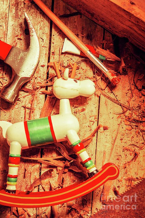 Craft Photograph - Homemade Christmas Toy by Jorgo Photography - Wall Art Gallery