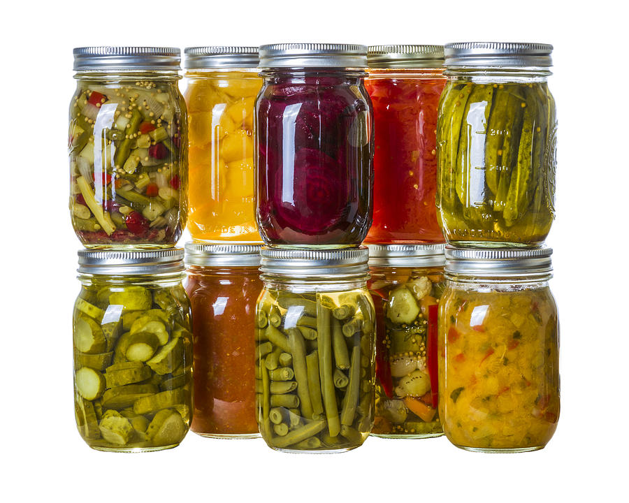 Food Photograph - Homemade Preserves And Pickles by John Trax