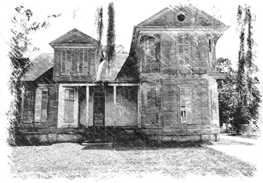 Louisiana Photograph - Homestead 2 by Dick Goodman