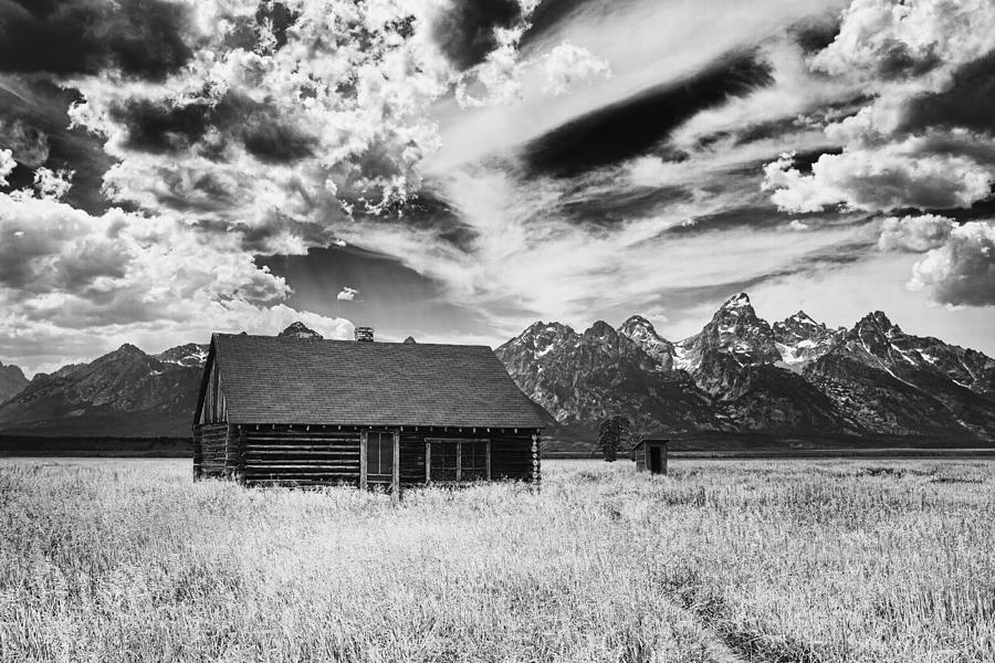 Grand Photograph - Homestead Mormon Row by Hugh Smith