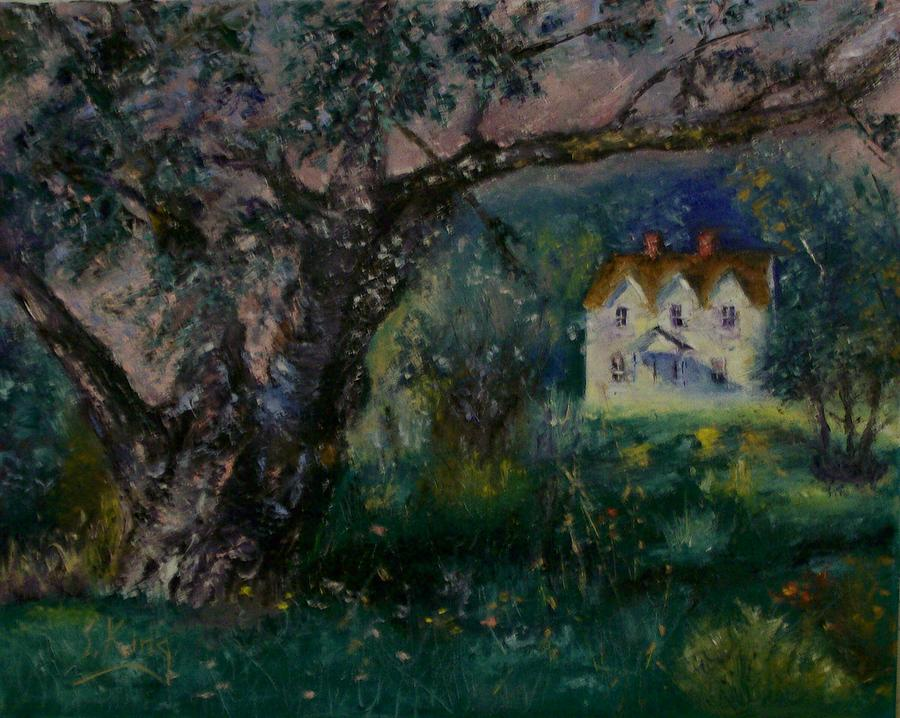 Landscape Painting - Homestead by Stephen King