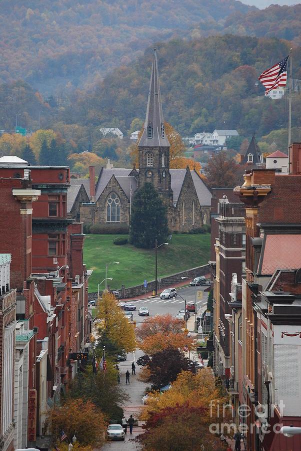 Cumberland Photograph - My Hometown Cumberland, Maryland by Eric Liller