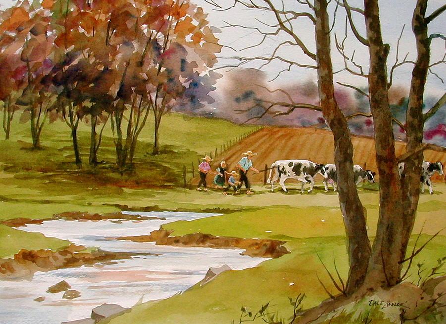 Landscape Painting - Homeward Bound by Faye Ziegler