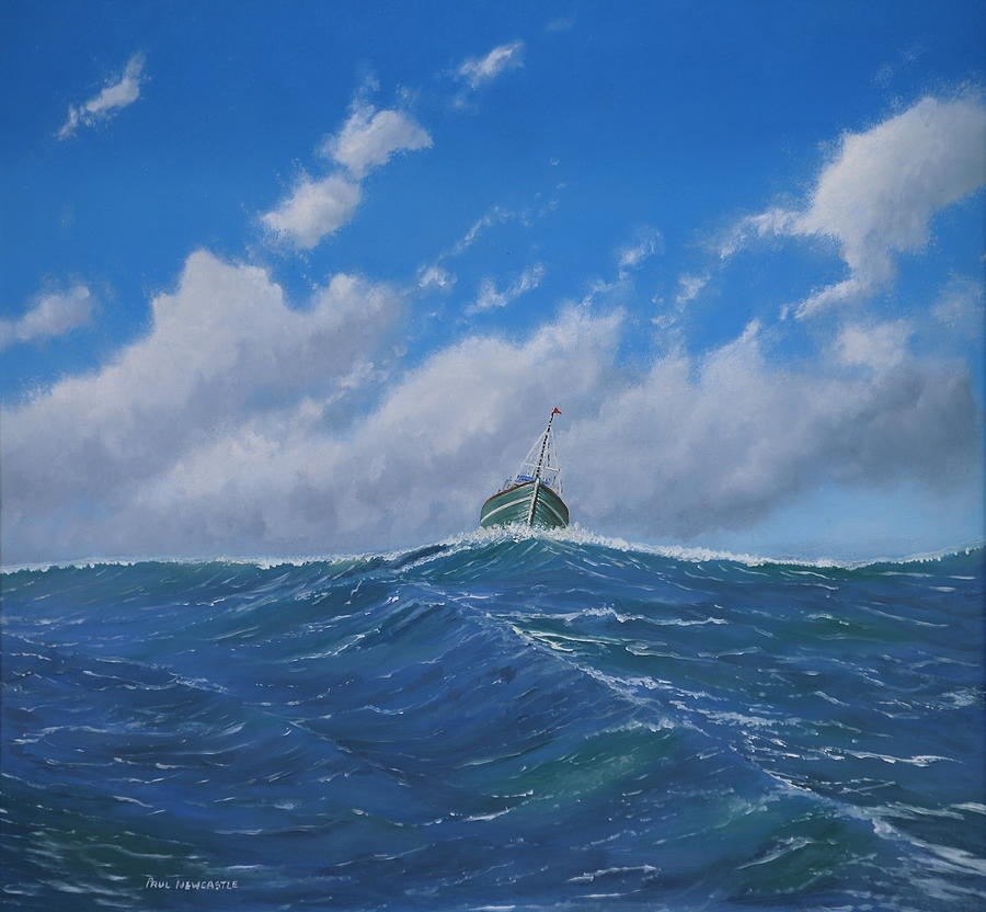 Sea Painting - Homeward Bound by Paul Newcastle