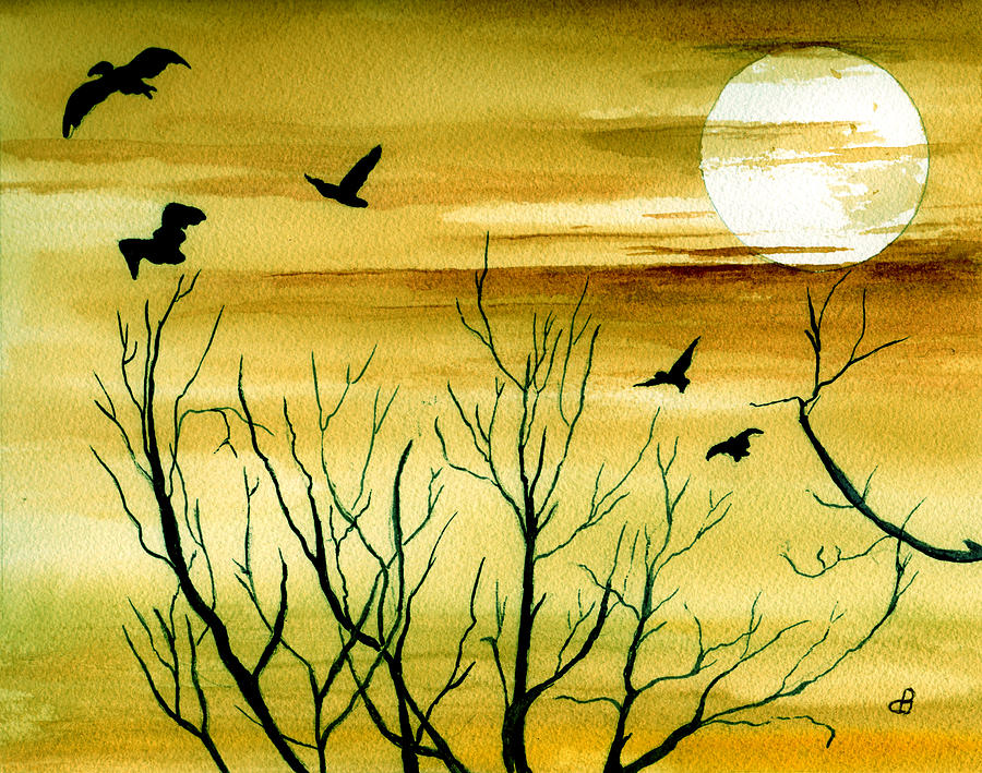 Homeward Painting by Brenda Owen