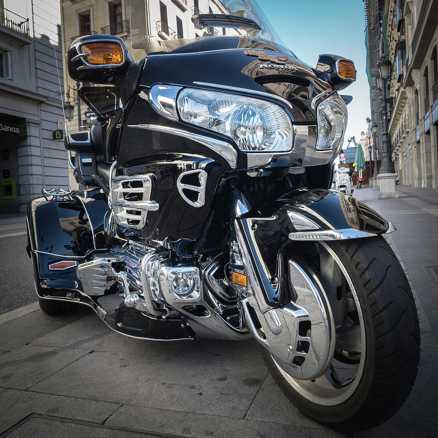 Honda Motorbike Photograph - Honda Motorbike by Tim Clark