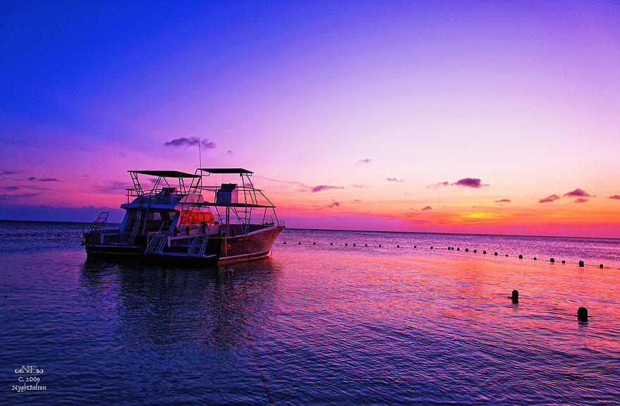 Honduran Sunset 5697 Photograph by Falcon NA