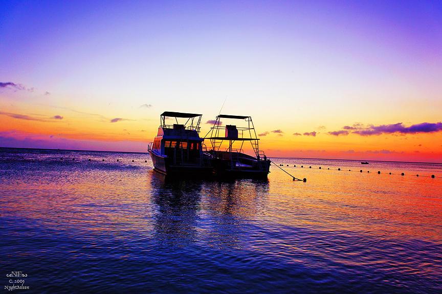 Honduran Sunset 5699ds1 Photograph by Falcon NA