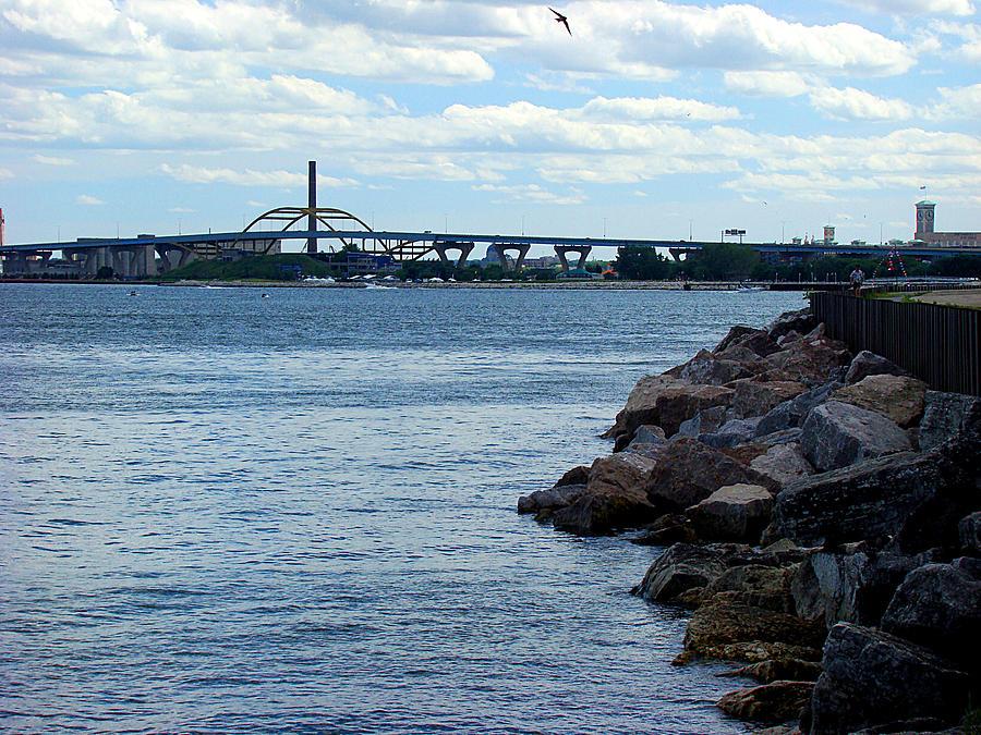 Milwaukee Photograph - Hone Bridge by Todd Zabel